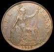 London Coins : A166 : Lot 2013 : Penny 1919KN Freeman 187 dies 2+B GVF the reverse a little better, Rare in all grades above VF