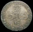 London Coins : A166 : Lot 2024 : Shilling 1709 Third Bust, Plain in angles and below Bust ESC 1154, Bull 1402 Pleasing VF with touche...