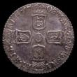 London Coins : A166 : Lot 2050 : Sixpence 1703 VIGO ESC 1582, Bull 1446 GEF/AU and nicely toned, in an LCGS holder and graded LCGS 75...