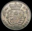 London Coins : A166 : Lot 2051 : Sixpence 1821 ESC 1654, Bull 2421 GEF with a toning spot by F:D:, an overall gold and olive tone dis...