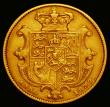 London Coins : A166 : Lot 2085 : Sovereign 1837 Marsh 21 Fine/Good Fine with some small edge nicks