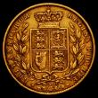 London Coins : A166 : Lot 2111 : Sovereign 1871S Shield Reverse Marsh 69 Fine/Good Fine
