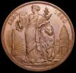 London Coins : A166 : Lot 2662 : Belgium medal 1830-1880 50 Years of the Constitution 37mm diameter in bronze, by L.Wiener, UNC and n...