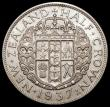 London Coins : A166 : Lot 2824 : New Zealand Halfcrown 1937 KM#11 UNC and lustrous with a small spot on the King's eye, one of t...