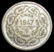 London Coins : A166 : Lot 2915 : Tunisia - French Protectorate Medallic Coinage 10 Francs 1947A (AH1367) X#1 Lustrous UNC with some t...