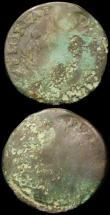 London Coins : A166 : Lot 2929 : USA/France 30 Deniers 1710AA with stop after LVD, Breen 282 VG with surface graining, USA/Ireland Fa...