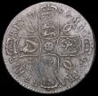 London Coins : A166 : Lot 2954 : Halfcrown 1682 unaltered date ESC 489, Bull 493 toned Fine/Good Fine with some heavier adjustment li...