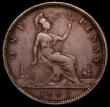 London Coins : A166 : Lot 3010 : Penny 1861 Freeman 18 dies 2+D Fine, rated at R13 by Freeman, probably rarer than Freeman suggests, ...