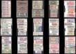London Coins : A166 : Lot 506 : World (84) in mixed grades comprising Belgium issues dated 1st February 1943 (2) including 5 Francs ...