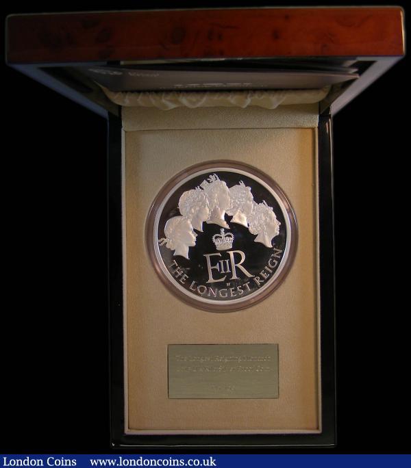 2015Longest-Reigning Monarch Royal Collection 50 cent UNC.