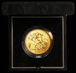 London Coins : A166 : Lot 626 : Five Pounds Gold 2003 S.SE7, BU in the Royal Mint green box of issue with certificate