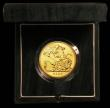 London Coins : A166 : Lot 628 : Five Pounds Gold 2007 S.SE7 BU in the Royal Mint green box of issue with certificate