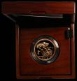 London Coins : A166 : Lot 629 : Five Pounds Gold 2015 Jody Clark Portrait S.SE13 BU in the Royal Mint box of issue with certificate ...