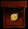 London Coins : A166 : Lot 663 : One Pound 2016 The Last Round Pound Gold Proof number 320 of just 800 minted FDC in the box of issue...