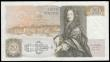 London Coins : A166 : Lot 80 : Fifty Pounds Gill QE2 pictorial & Sir Christopher Wren B356 issue 1988 serial number D34 225337 ...