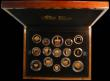 London Coins : A166 : Lot 810 : The 2013 United Kingdom Gold Proof Set an eye-catching 15-coin set comprising Five Pound Crown 2013 ...
