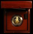 London Coins : A166 : Lot 832 : Twenty Five Pounds 2017 The Queen's Beasts - The Unicorn of Scotland Quarter Ounce Gold Proof (...