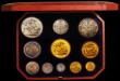 London Coins : A166 : Lot 901 : Victoria Golden Jubilee 1887 Currency Set Five Pounds, Two Pounds, Sovereign and Half Sovereign and ...
