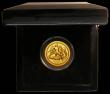 London Coins : A166 : Lot 977 : Isle of Man Gold Angel 2012 One Ounce of 24 carat Gold Proof nFDC with some minor hairlines, in the ...