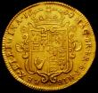 London Coins : A167 : Lot 1233 : Two Guineas 1694 4 over 3 S.3424 Near VF/VF the reverse ex-brooch mount, the mount marks skilfully r...