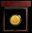 London Coins : A167 : Lot 140 : Sovereign 1989 500th Anniversary of the first Gold Sovereign Proof FDC in the box of issue with cert...