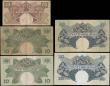 London Coins : A167 : Lot 1481 : East Africa Currency Board Queen Elizabeth II portrait ND 1950-60's issues (4) comprising the 4...