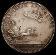 London Coins : A167 : Lot 1755 : Coronation of William and Mary 1689 35mm diameter in silver by J.Roettier, Eimer 312, The Official C...