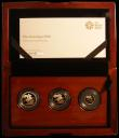 London Coins : A167 : Lot 179 : The 2018 United Kingdom 3-coin set Sovereign Collection, 65th Anniversary of the Coronation, compris...