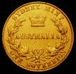 London Coins : A167 : Lot 1875 : Australia Sovereign 1870 Sydney Branch Mint Marsh 375 Fine with porous surfaces