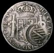 London Coins : A167 : Lot 1881 : Brazil - Minas Gerais Counterstamped Coinage 960 Reis 1804, Counterstamp Obverse: Crowned shield in ...