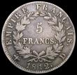 London Coins : A167 : Lot 2314 : France 5 Francs 1812D Lyon Mint KM#694.5 About Fine/Near Fine
