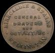 London Coins : A167 : Lot 2357 : New Zealand 19th Century Penny Token undated (1874) Kirkaldie & Stains, Wellington. General Drap...