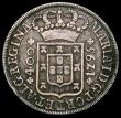London Coins : A167 : Lot 2363 : Portugal 400 Reis 1795 KM#288 Fine or slightly better with old grey toning