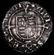 London Coins : A167 : Lot 389 : Halfgroat Henry VIII First Coinage, Profile issue, York Mint, Archbishop Wolsey, Keys and Cardinal&#...