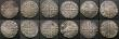London Coins : A167 : Lot 401 : Pennies Edward I (12) London Mint Classes 2b, 3b, 3c, 3d, 3f (2), 4a, 4c, 10d, Canterbury Mint Class...