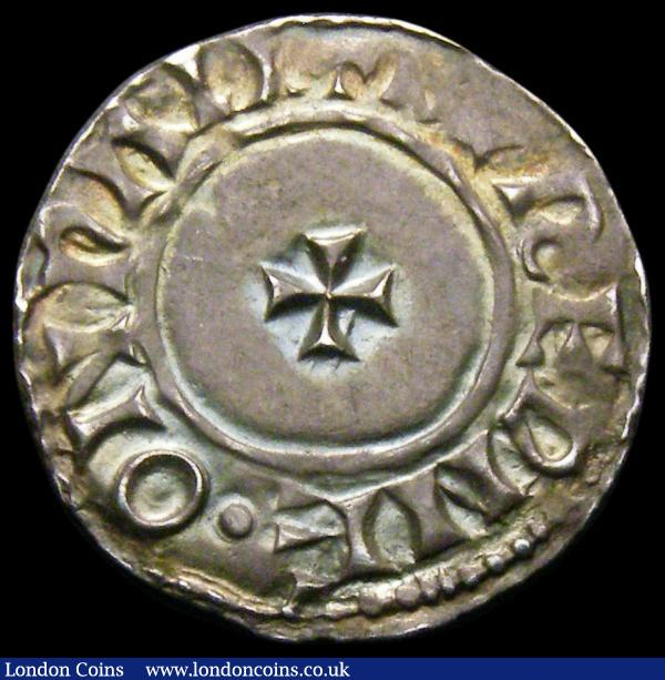 Penny Edward the Confessor, Facing Bust/Small Cross type, S.1183, Moneyer BVREPNE, Wallingford Mint (PALI) North 830, 1.07 grammes, approaching EF, struck on a full round flan, a most pleasing example and scarce thus : Hammered Coins : Auction 167 : Lot 411