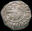 London Coins : A167 : Lot 413 : Penny Henry II Tealby HENRI: REX legend no pellets down side of shoulder left mantle not struck, Rev...