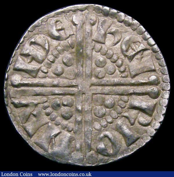 Penny Henry III Long Cross, letter X in REX has one curved limb, Class 5C, London Mint, moneyer Henri, 1.47 grammes, VF : Hammered Coins : Auction 167 : Lot 416