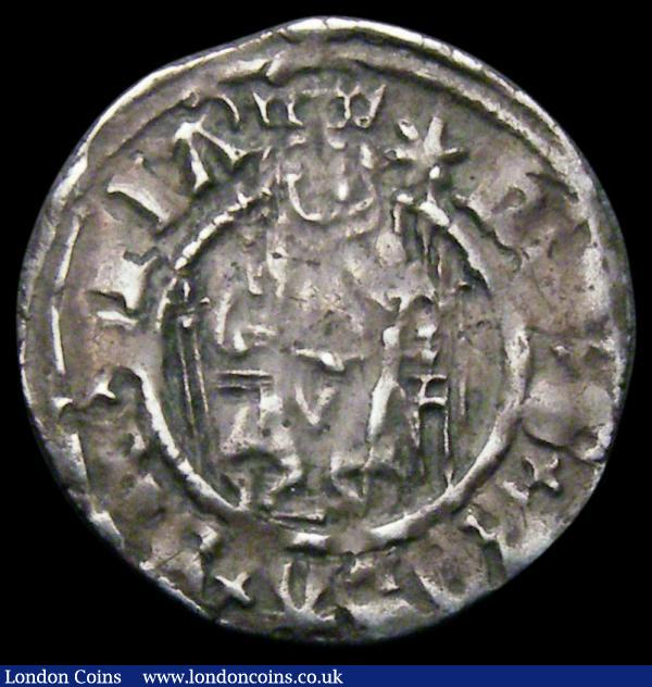Penny Henry VIII Second Coinage, Sovereign type, Durham Mint Archbishop Tunstall, CD beside shield, S.2354 mintmark Star/-, 0.67 grammes, Good Fine or better, the legend a little weak in places : Hammered Coins : Auction 167 : Lot 417