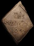 London Coins : A167 : Lot 423 : Shilling Charles I 1645 Newark Besieged S.3142 GVF a bold example showing excellent detail, of the N...