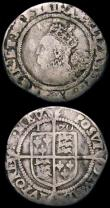 London Coins : A167 : Lot 440 : Sixpences (2) Elizabeth I 1565 S.2561 Smaller flan, Bust 1F with 17.5mm inner circle mintmark Rose o...