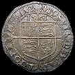 London Coins : A167 : Lot 443 : Threepence Elizabeth I 1561 with rose and date, struck on a larger flan with 15mm inner circle, S.25...