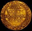 London Coins : A167 : Lot 446 : Unite James I Second Coinage, Fourth Bust S.2619, Mintmark Coronet 10.01 grammes, Fine/Good Fine a p...