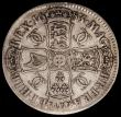 London Coins : A167 : Lot 453 : Crown 1683 TRICESIMO QVINTO ESC 66, Bull 419, Obverse Fine or near so with an edge bruise, Reverse B...