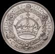 London Coins : A167 : Lot 495 : Crown 1928 ESC 368, Bull 3633 AU/GEF with good surfaces displaying just a few minor contact marks, t...
