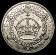 London Coins : A167 : Lot 498 : Crown 1929 ESC 369, Bull 3636 UNC and lustrous with a few small rim nicks, a most attractive example...