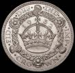 London Coins : A167 : Lot 502 : Crown 1932 ESC 372, Bull 3641 GEF with good subdued lustre and some contact marks, though significan...