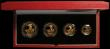 London Coins : A167 : Lot 6 : Britannia Gold Proof Set 1999 the 4-coin set comprising £100 One Ounce, £50 Half Ounce, ...