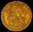 London Coins : A167 : Lot 644 : Half Guinea 1764 S.3732 VG the reverse slightly better