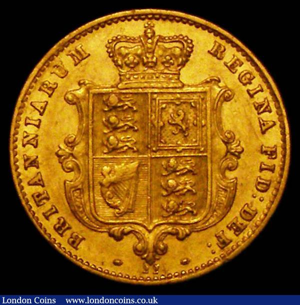 Half Sovereign 1869 Marsh 444, Die Number 22 GVF a pleasing example : English Coins : Auction 167 : Lot 694